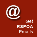 Subscribe to the RSPOA mailing list.
